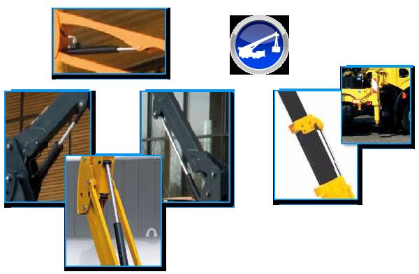 Vérin hydraulique de levage, de telescopage, d'inclinaison et de stabilisateur