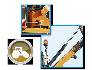Vérin hydraulique de pivotement et de bras