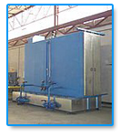 Cabine de lavage Hydraulique PB